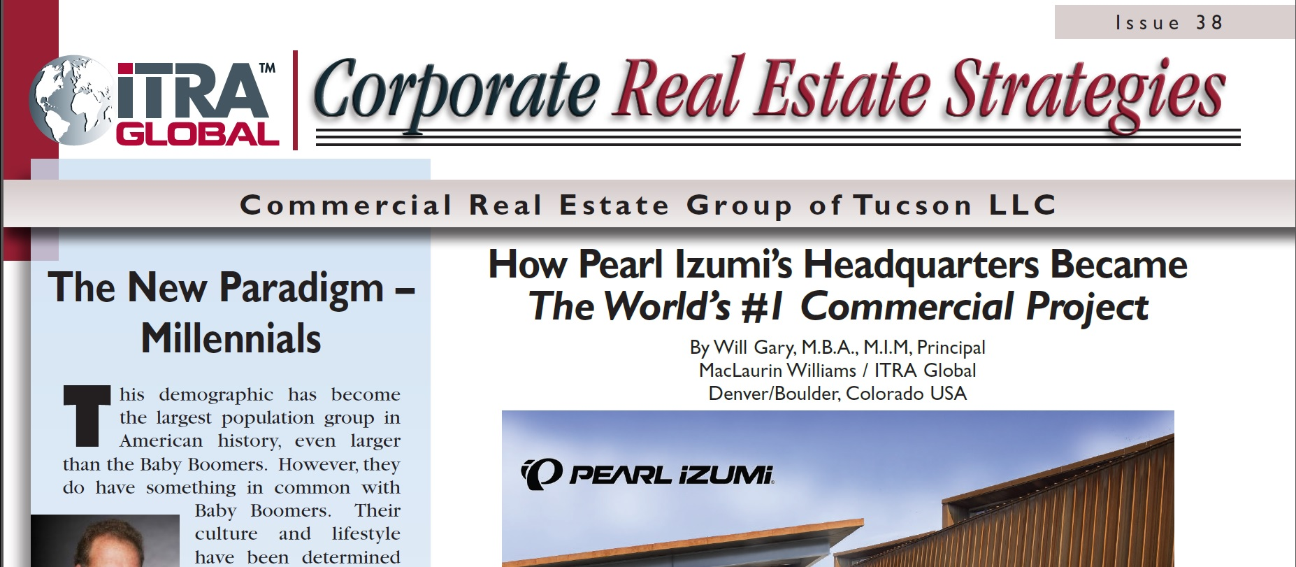 ITRA Global-CREG Tucson newsletter number 38